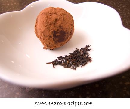 Earl Grey Truffles, from The Sweet Melissa Baking Book