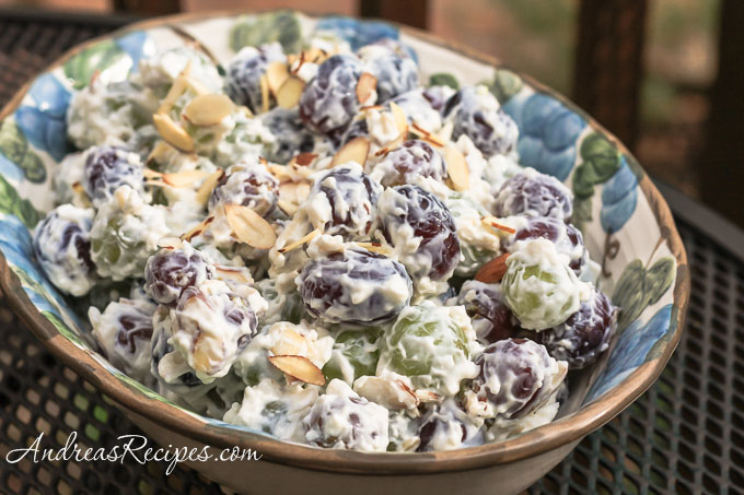 Andrea Meyers - Grape Salad with Almonds