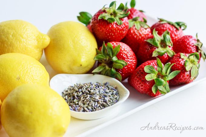 Andrea Meyers - Strawberries, lemons, and lavender
