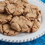 Peanut Butter Cookies from Mousse Cookies and More - Andrea Meyers