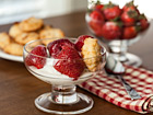Andrea Meyers - Strawberries and Cream with Macaroons