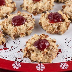 Thumbprint Cookies - Andrea Meyers