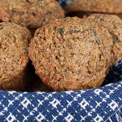 Oat Bran Flax Muffins Recipe - Andrea Meyers