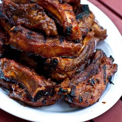 Barbecued Ribs Recipe - Andrea Meyers