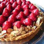 Strawberry Cream Tart Recipe - Andrea Meyers