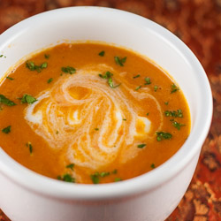 Carrot Ginger Soup Recipe - Andrea Meyers