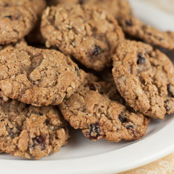 Whole Wheat Oatmeal Cranberry Cookies Recipe - Andrea Meyers
