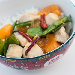 Quick and Easy Mandarin Orange Chicken - Andrea Meyers