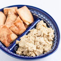 Roasted Garlic Hummus - Andrea Meyers