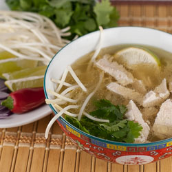 The Daring Cooks Make Steamy Kitchen's Pho Ga Recipe - Andrea Meyers