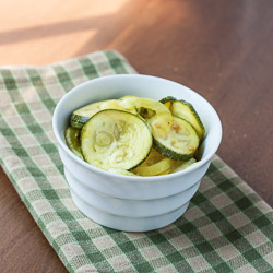 Zucchini Pickles - Andrea Meyers