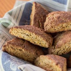Gluten-Free Pumpkin Scones Recipe - Andrea Meyers