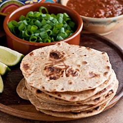 Whole Wheat Tortillas (The Kids Cook Monday) - Andrea Meyers