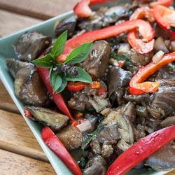 Andrea Meyers - Spicy Thai-Style Eggplant