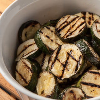 Grilled Zucchini Recipe with Herb Marinade - Andrea Meyers