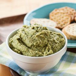 Artichoke and Spinach Hummus Recipe - Andrea Meyers