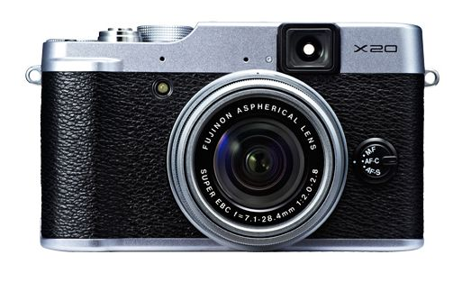 Fujifilm X20 in silver finish