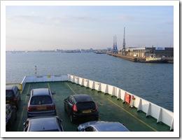 Ferry to Southampton