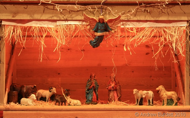TRUE MEANING_This crib scene reminds us of the real reason for Christmas.