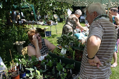 THE PLANT STALL_You're supposed to be selling, Gill, not talking!