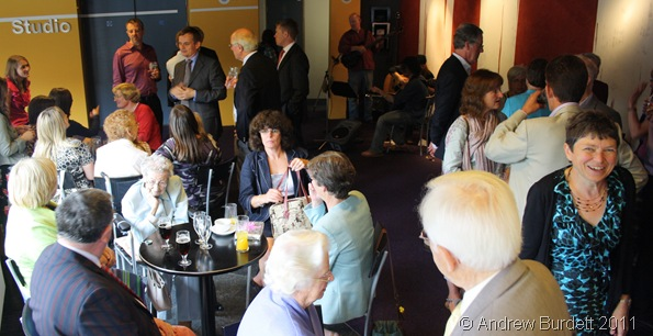 MEET AND GREET_The afternoon started in the bar, as guests arrived and chatted to friends and fellow family members.