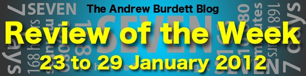 Review of the Week: 16 to 22 January 2012