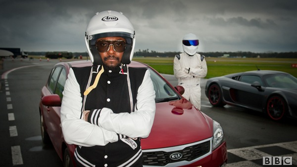 THE MAN AND THE BEAST: Will.i.am was a highly interesting TG guest this week.