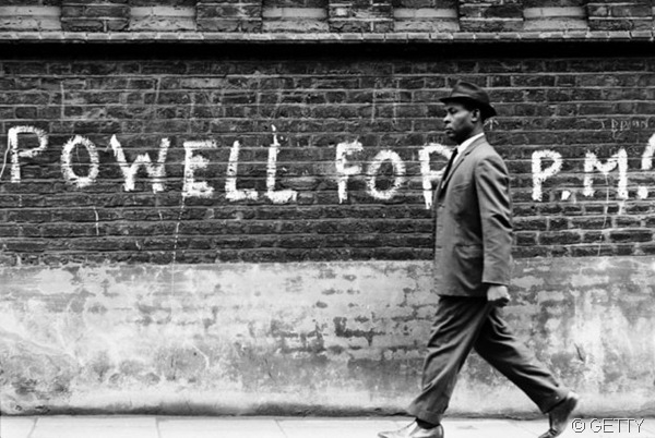 CLEAR AS BLACK AND WHITE: A message of support for the controversial MP Enoch Powell. (0000103c_medium)