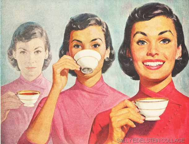 GIRL POWER: An image from the period of British History we were studying. (housewives-coffee-56-wmk)