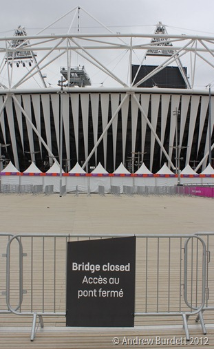 SHUTTING UP SHOP: The Olympic Stadium will be closed indefinitely after the Paralympic Closing Ceremony. (IMG_2687)