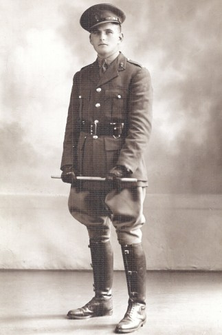 Capt Arthur Burdett, my grandfather, of the Royal Engineers.
