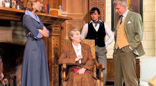 The 60th Anniversary tour of Agatha Christie's 'The Mousetrap'.