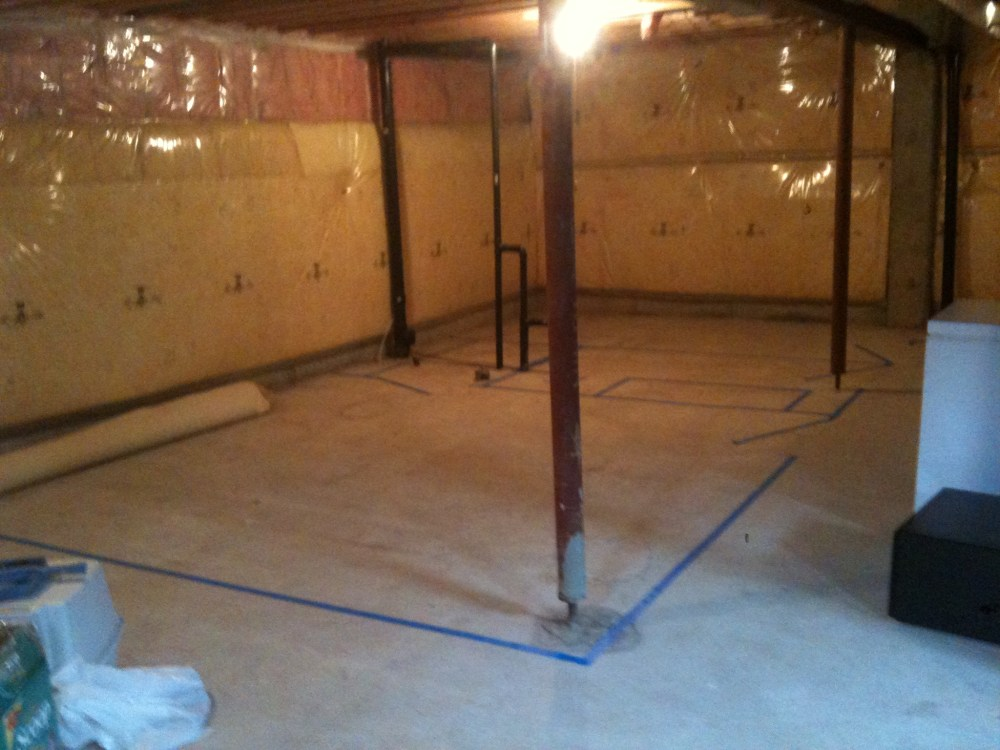 Basement Reno: the beginning (4/6)