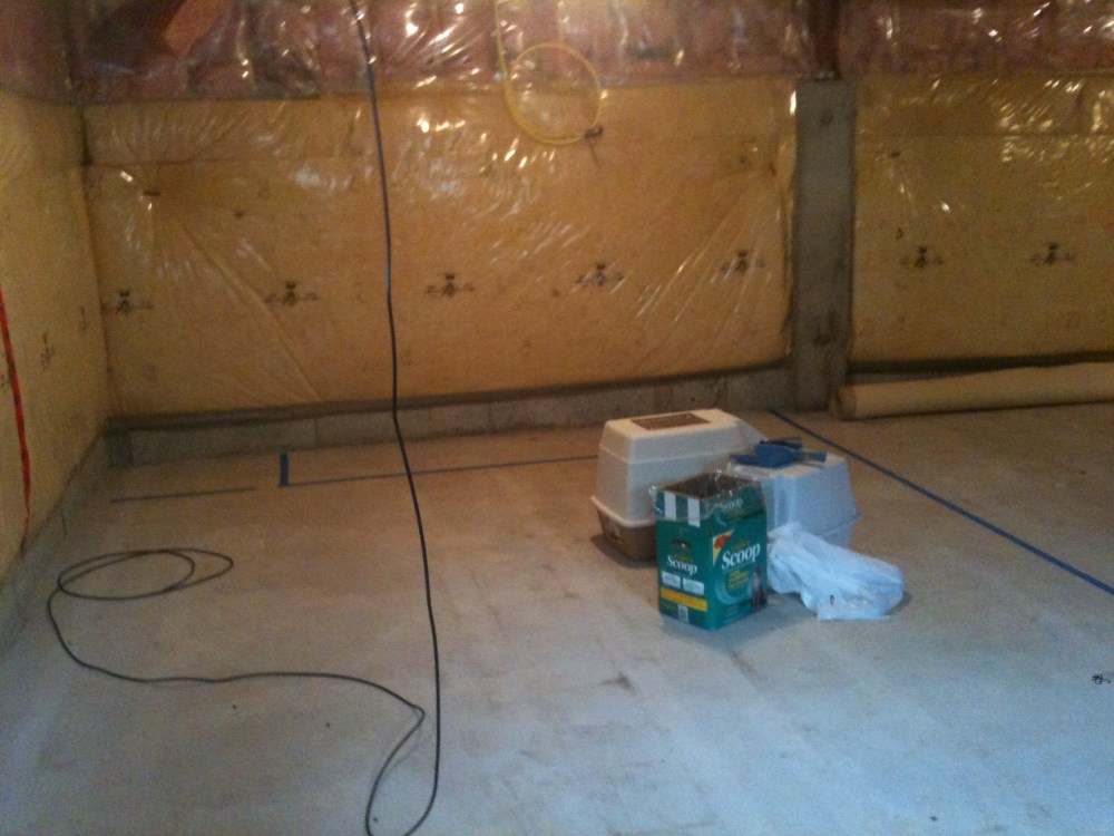 Basement Reno: the beginning (5/6)