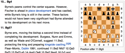 Of parsing and chess