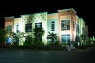 Night Photography, Floodlit Building