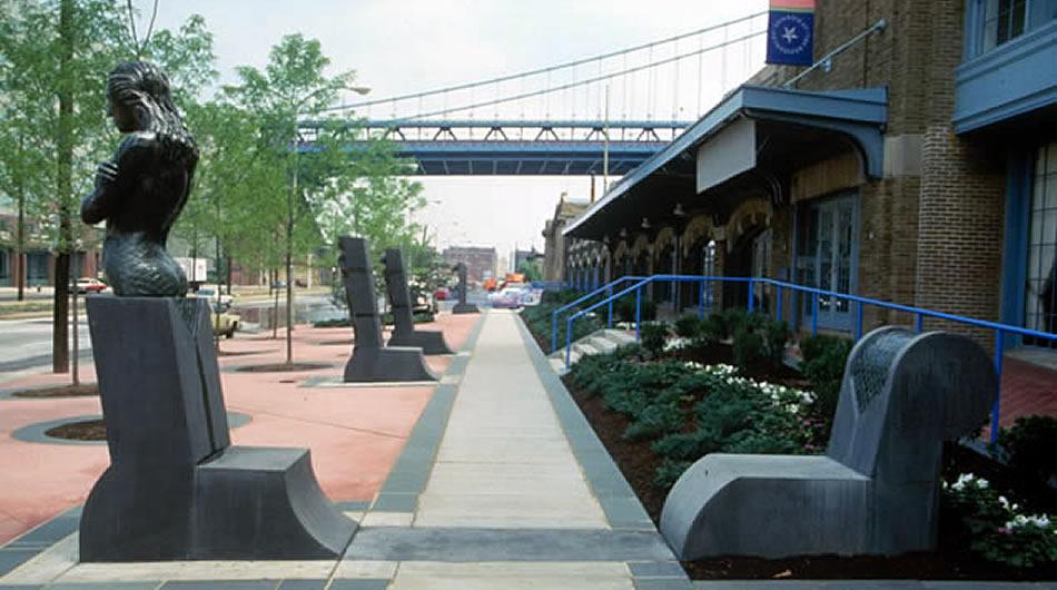 Riverwalk at Piers 3 & 5, Penn's Landing, Philadelphia, PA