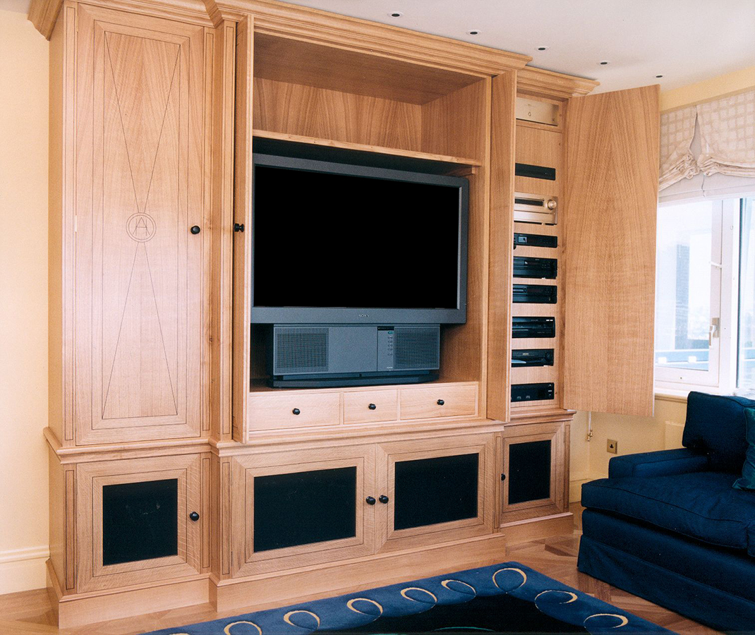 Hi Fi Tv Tv And Hi Fi Cabinets By Andrew Manning