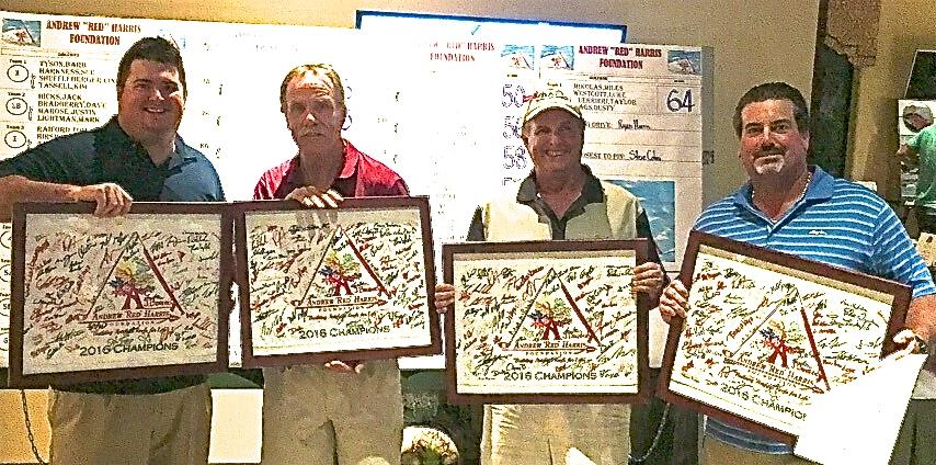 """2016 Andrew """"Red"""" Harris Foundation's 3rd annual Golf Tournament winners"""