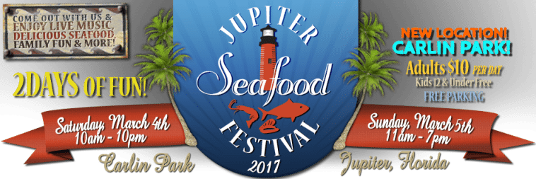 "The 2017 Jupiter Seafood Festival at Carlin Park is benefiting The Andrew ""Red"" Harris Foundation"