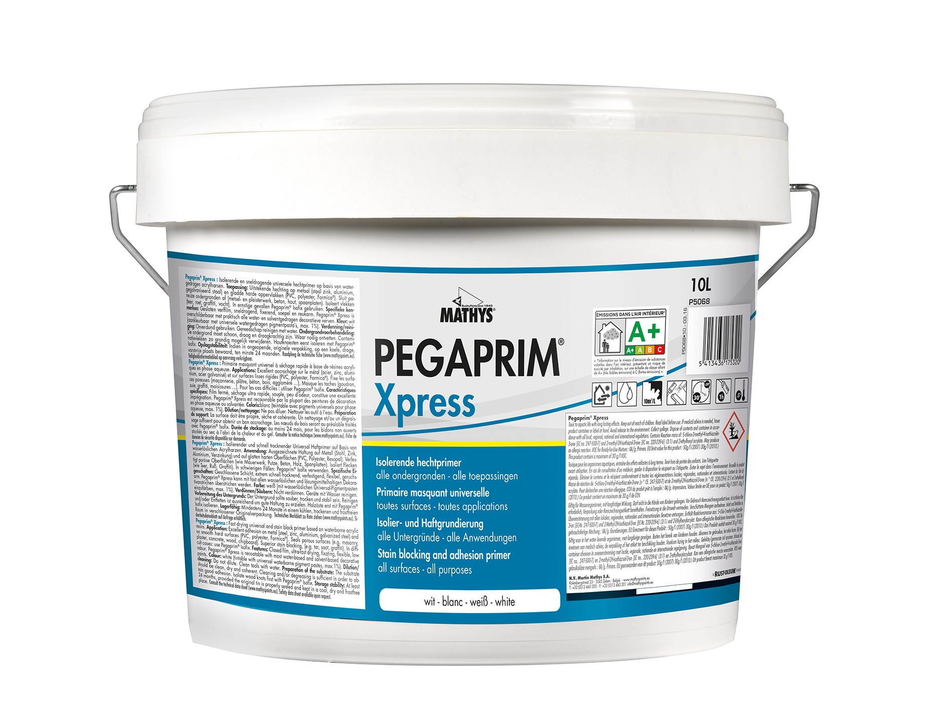 Isolerende Latex Pegaprim Xpress