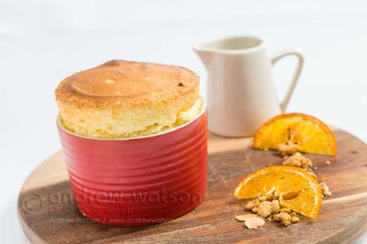 Image of souffle in a ramakin