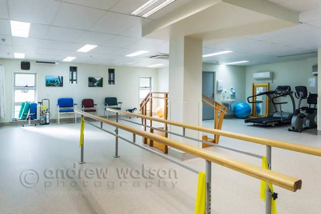 Image of new rehabilitation room in private hospital