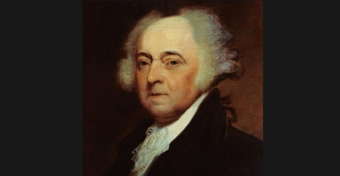 John Adams second president