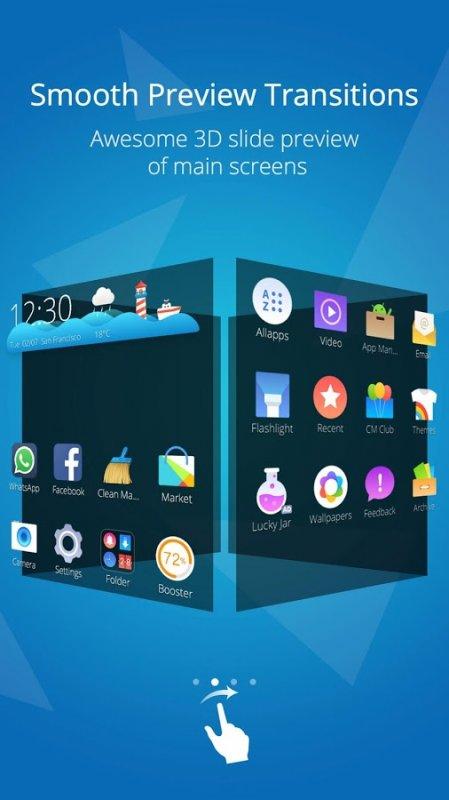 Cm Launcher 3d Theme Wallpaper Apk Pobierz Cm Launcher 3d Boost Theme Apk Na Androida Za