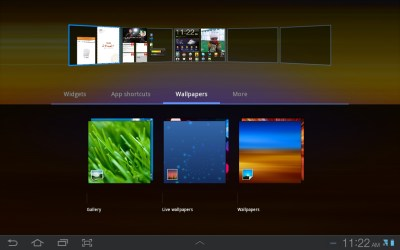 How to Change Wallpapers on Galaxy Tab Tablet - Android Advices
