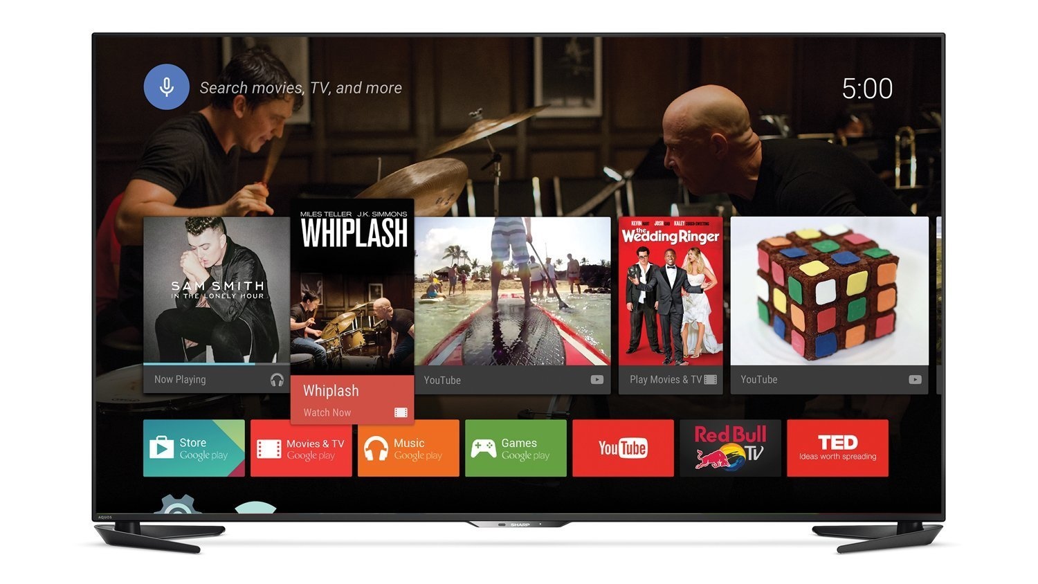Television Series Of Sharp Introduces Two New Series Of Smart Tvs With Android Tv On