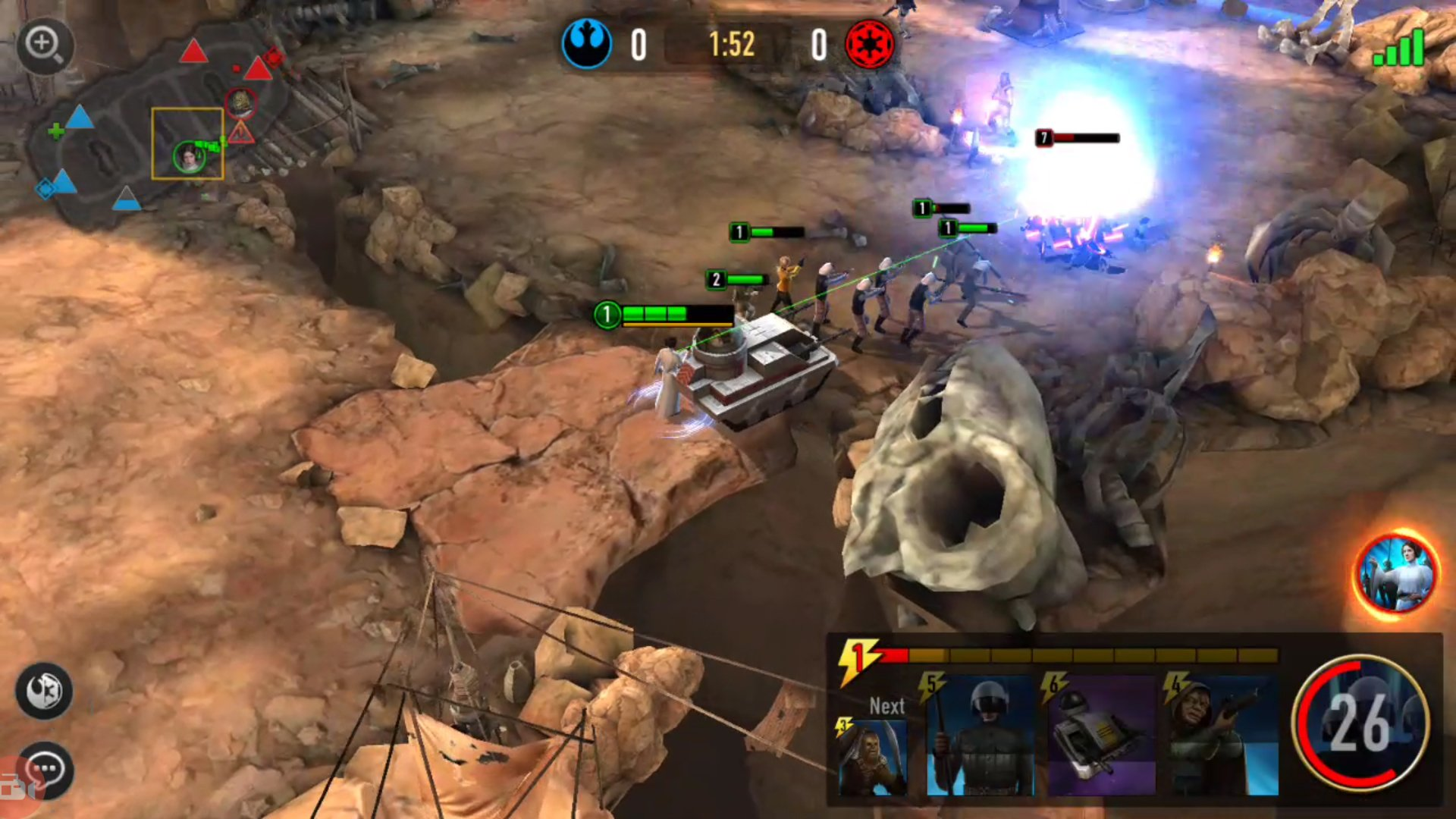 Arena Game Star Wars Force Arena Review The Best And Worst Of Mobile Gaming