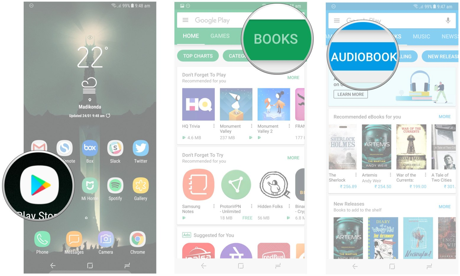 Descargar Libros De Play Books Gratis How To Download Audiobooks From Google Play Android Central