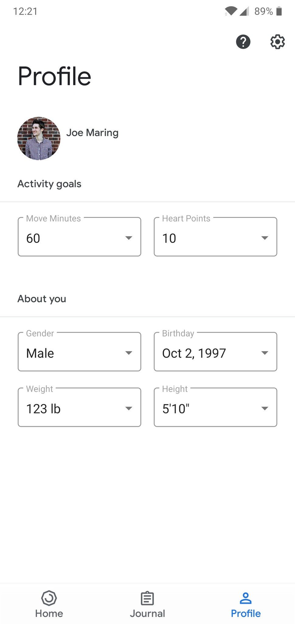 10 In Cm How To Measure Height In Centimeters In Google Fit Android Central